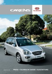PREISE • TECHNISCHE DATEN ... - Gratwohl Automobile AG