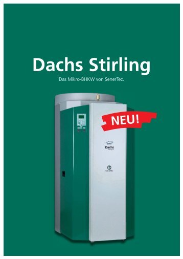 Dachs Stirling - Senertec-center.de