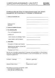 Formular Antrag auf Zahlungserlass Gartenzähler - Wasserverband ...