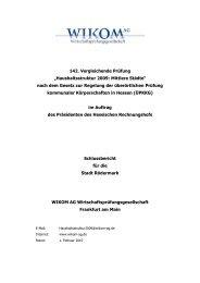 Dokumentenvorlage für den ... - Stadt Rödermark