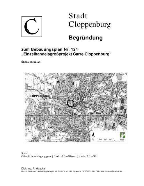 1f99e9e03f400e Einzelhandelsgroßprojekt Carre Cloppenburg - Cloppenburg.name