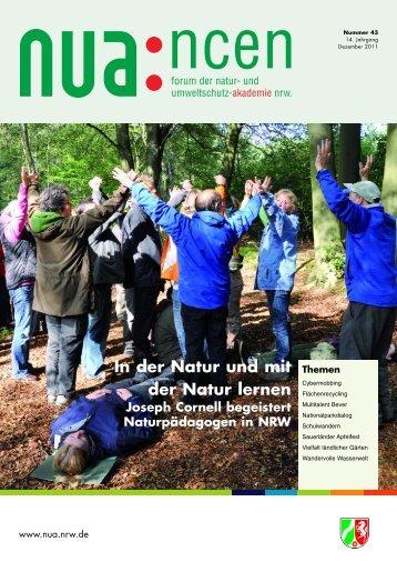 NUAncen Heft 43 / 2011 - Natur- und Umweltschutz-Akademie NRW