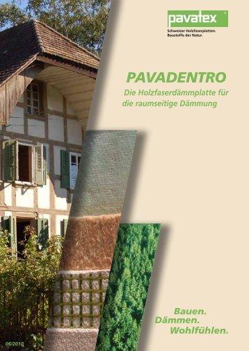 PAVADENTRO - BAUNETZ Naturbaustoffe