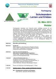 N028-2013_2_Schulwandern - Lernen und Erleben - Naturschutz ...