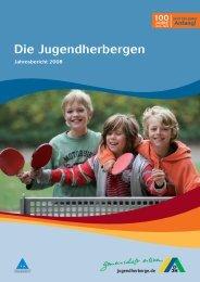 Die Jugendherbergen - Deutsches Jugendherbergswerk