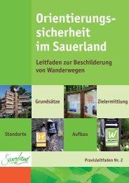 Praxisleitfaden 2_Beschilderung von Wanderwegen.pdf - Sauerland ...