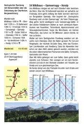 54 Wildhaus – Gamserrugg - St.Galler Wanderwege
