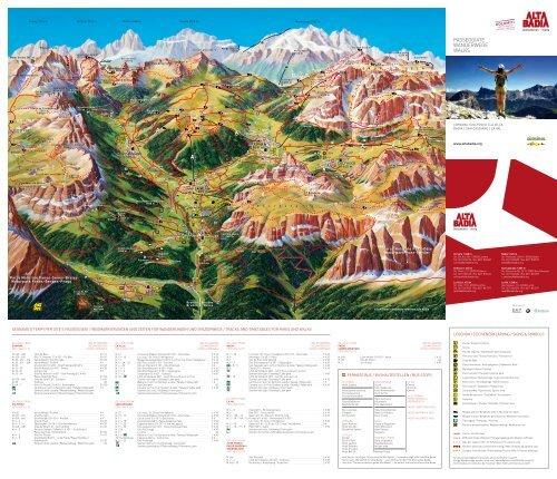 PASSEGGIATE WANDERWEGE WALKS - Alta Badia
