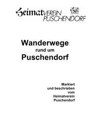 Wanderwege Puschendorf - Heimatverein Puschendorf