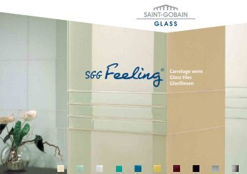 Carrelage verre Glass tiles Glasfliesen - Saint-Gobain Glass
