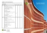 Prospekt Lärmschutzelemente - Keller AG Ziegeleien