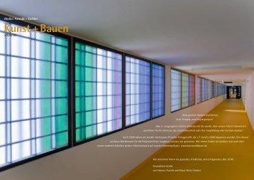 Kunst + Bauen - Atelier Arnold + Eichler