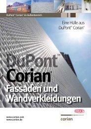 Fassaden und Wandverkleidungen - Mineralwerkstoff DuPont ...