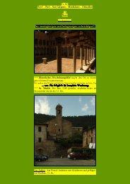 To S25 Torri – Pari – San Galgano - Kunstwanderungen