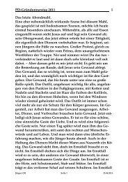 Donnerstag, 21. April 2011 - St. Michael Weingarten