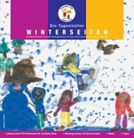 Winterseiten 2012 - Tagesmütter Steiermark