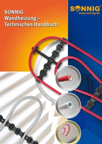 SONNIG Wandheizung – Technisches Handbuch - NOTHAFT ...