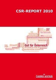 CSR-REPORT 2010