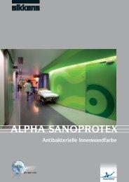 ALPHA SANOPROTEX - Sikkens