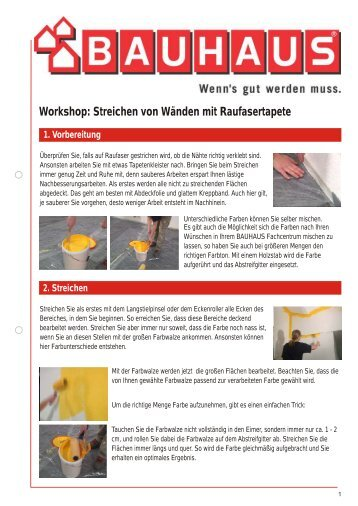 workshop montage eines waschbeckens bauhaus. Black Bedroom Furniture Sets. Home Design Ideas