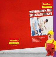 Wandfarben und Effektanstriche (PDF; 6,1 MB) - bauMax