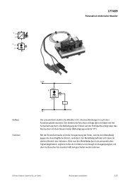 Pneumatisch-elektrischer Wandler 1/2 Der ... - Festo Didactic