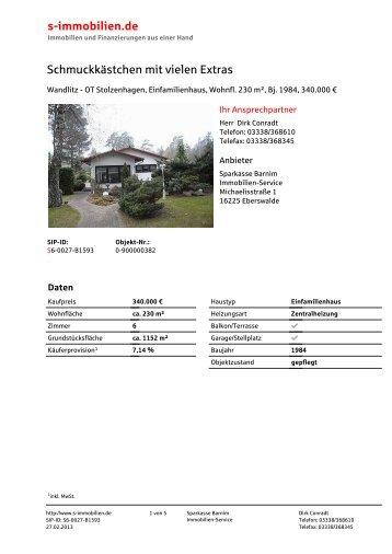 Print-Exposé (PDF) - Immobilie