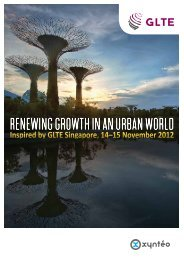 Renewing gRowth in an uRban woRld