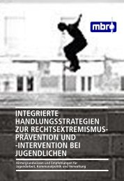 integrierte handlungsstrategien zur rechtsextremismus- prävention ...