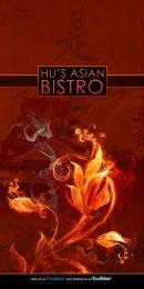 Food Menu - Hu's Asian Bistro