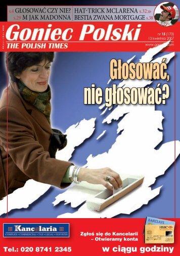 w ciągu godziny - Goniec Polski