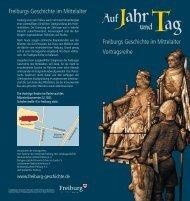 Flyer Jahr+Tag 2 - Alemannisches Institut