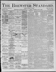 M. - Northern New York Historical Newspapers
