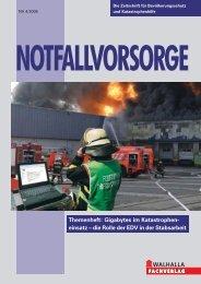 Heft 4, 2006 (PDF, 652KB) - Bundesamt für Bevölkerungsschutz und ...