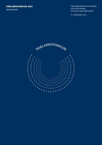 PARLAMENTARIUM 2013 - Walhalla Fachverlag