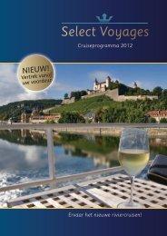 Brochure 2012 - Select Voyages