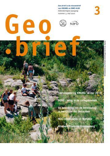 Geobrief 3 - kngmg