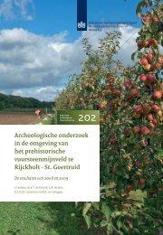 Archeologisch onderzoek in de omgeving van het prehistorische