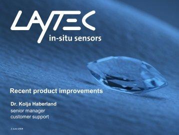 EpiTT / EpiCurve®TT LED-based for CCS reactor - Laytec