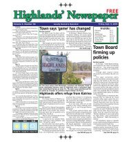 Sept 9 2005 - Highlands Newspaper PDF Archives
