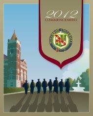 Commencement Bulletin - Winthrop University