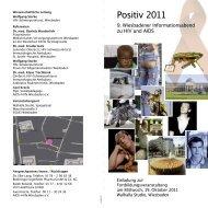 Positiv 2011 - AIDS-Hilfe Wiesbaden