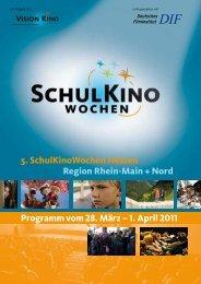 Filmprogramm Spielwoche 2 - Fachzentrum Klimawandel Hessen