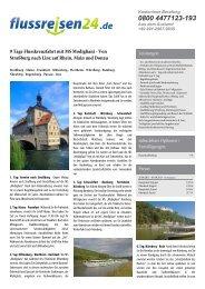 9 Tage Flusskreuzfahrt mit MS Modigliani - Von ... - Flussreisen 24