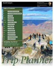 Trip Planner - Grand Canyon Inn