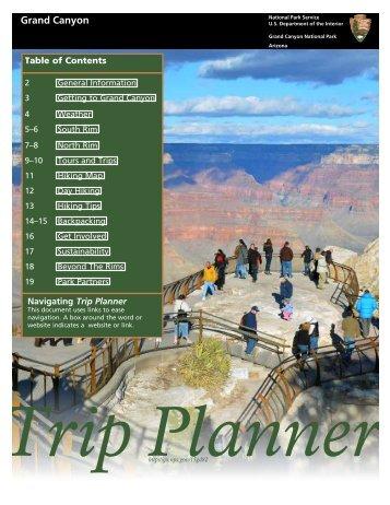 Trip Planner - Grand Canyon Inn