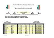 Rel. Hertha Walheim II 06 - Nordrhein-Westfälischer Judo-Verband ...