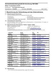 1. Bezeichnung der Zubereitung und des Unternehmens - Märker