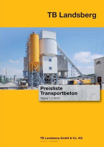 TB Landsberg GmbH & Co. KG - Märker