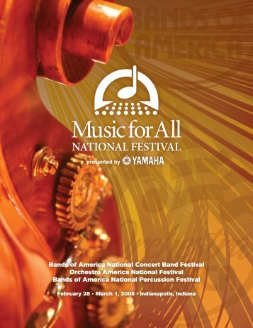 Program Selections - Music for All